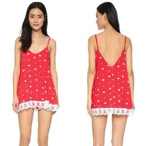 Wildfox Cupid Hearts Chemise